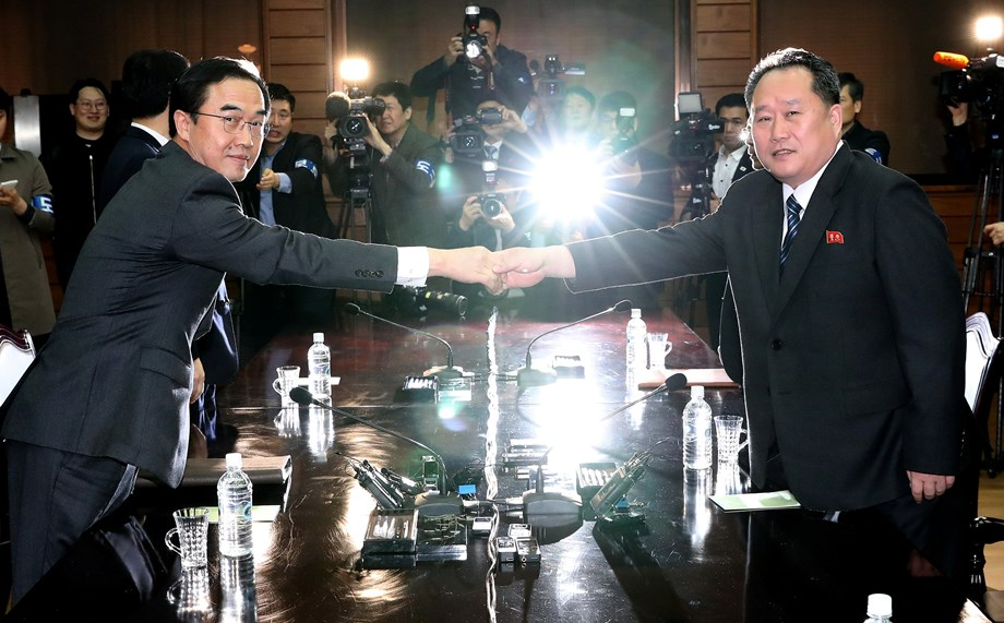 Date fixed for summit between North-South Korea