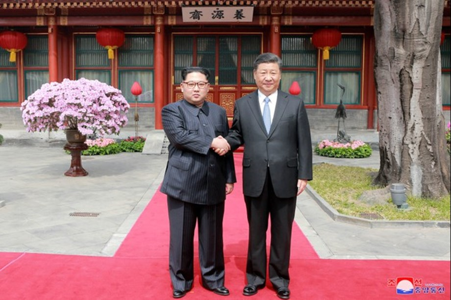 China commends North and South Korea summit