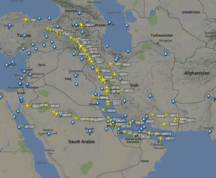 U.N. aviation agency eyes talks, meeting to defuse Gulf airspace standoff