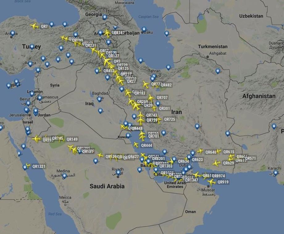 U.N. aviation agency eyes talks, meeting to defuse Gulf airspace standoff