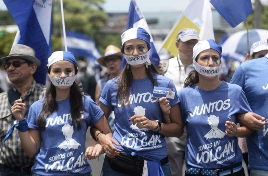 Thousands march in support Nicaragua bishops after Ortega attacks