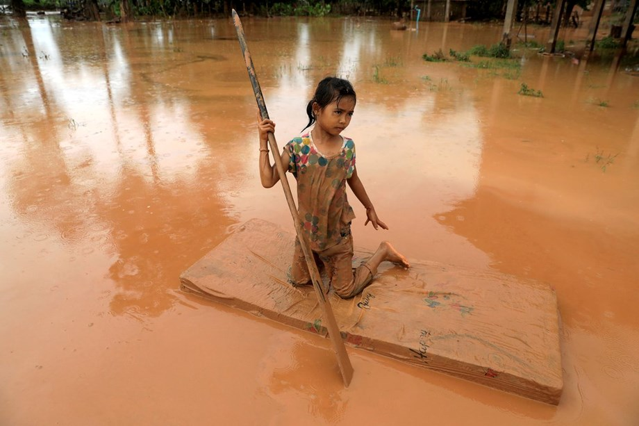 Australia provides assistance to flood victims in Attapeu, Lao PDR