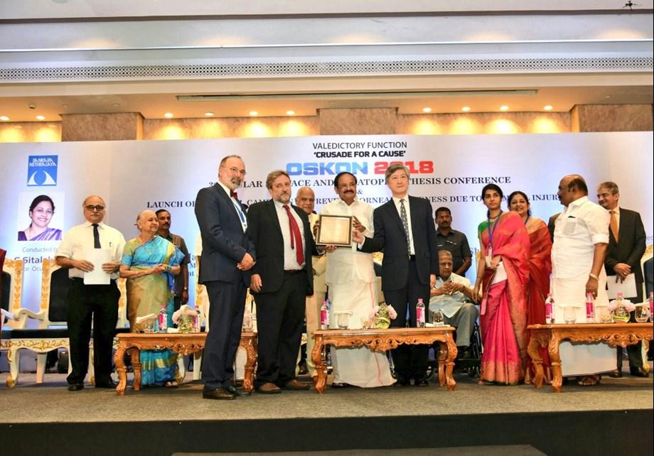 Vice President Venkaiah Naidu addresses OSKON 2018 in Chennai