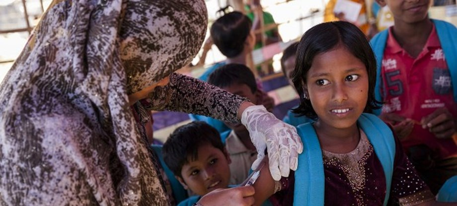 UN appeals for support to tackle 'massive' health needs of Rohingya refugees in Bangladesh