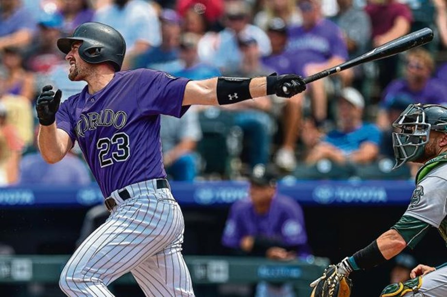 Murphy homered ,Marquez pitched helping Rockies finish sweep of Athletics