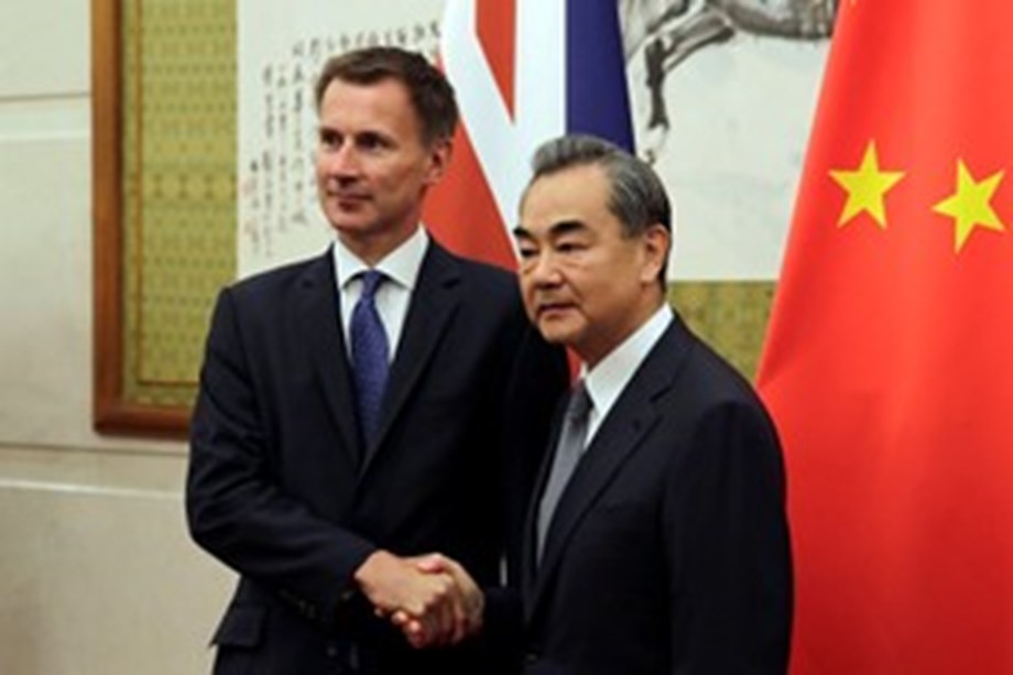 China says affairs of Hong Kong are domestic affairs, doesn't welcome interference