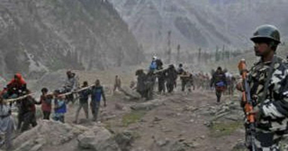Amarnath Yatra: Another 724 pilgrims leave for base camps