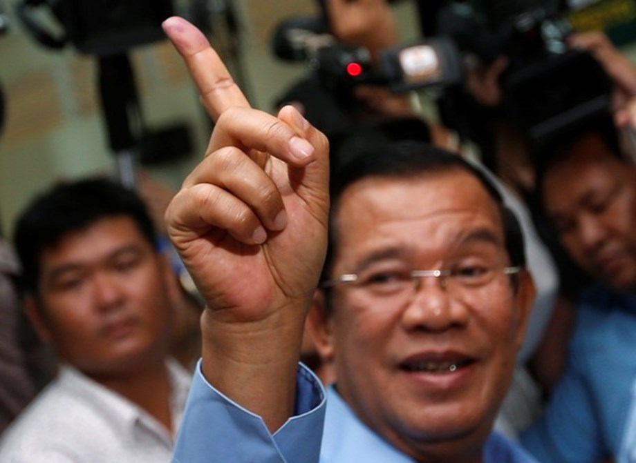 Spoil ballots paper in Cambodia general election represents a protest against opposition