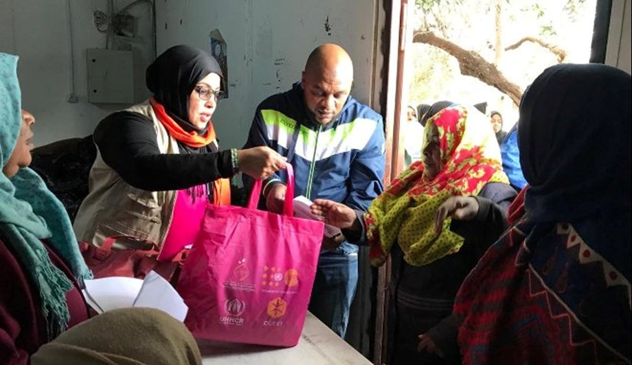 UN aids more than 8,000 displaced women in Libya
