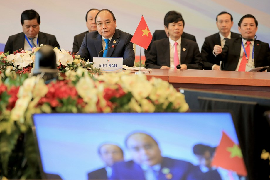 The sixth Mekong Greater Sub-Region Summit welcomes participants; below are the names
