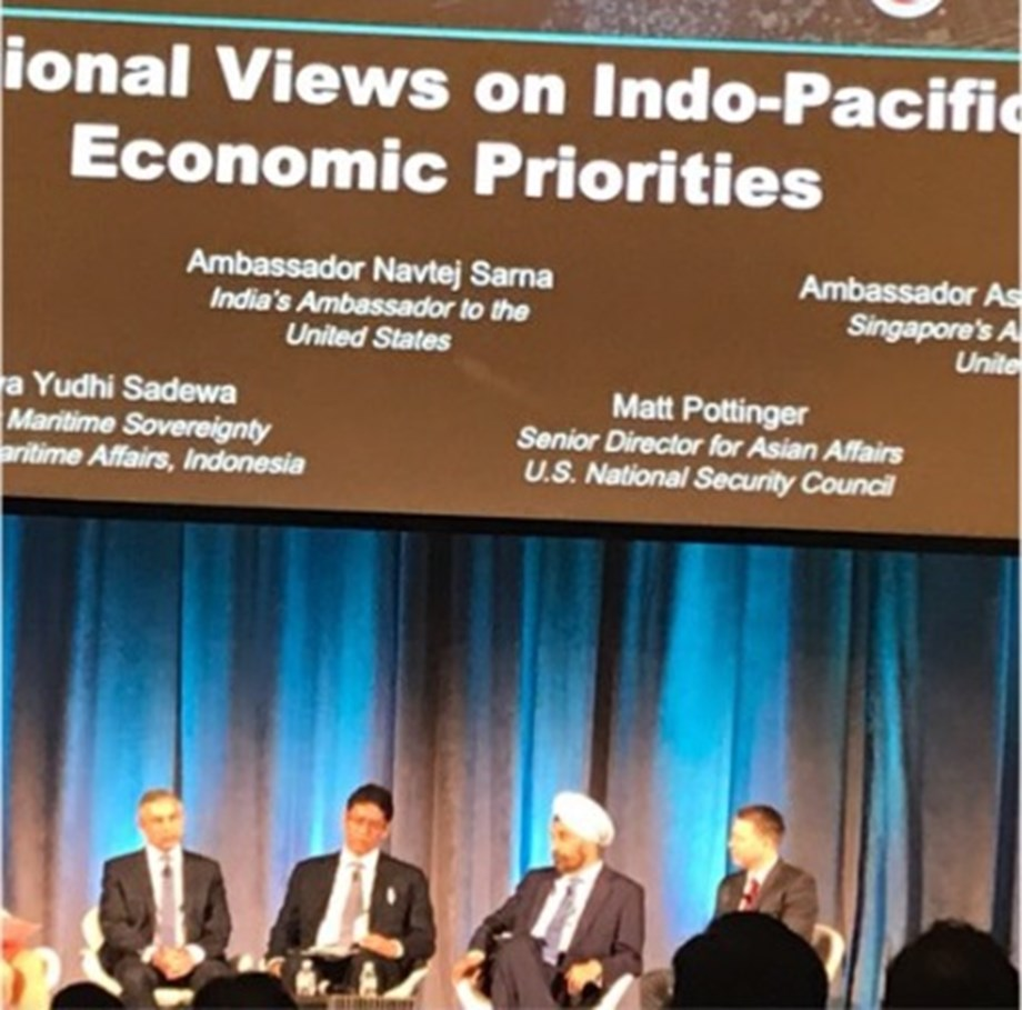 Mike Pompeo addresses Indo-Pacific Business Forum in Washington, DC