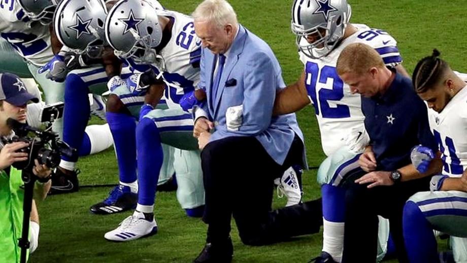 Richard Sherman decries Dallas Cowboys owner Jerry Jones over national anthem
