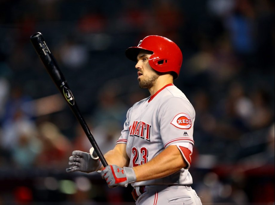 Atlanta Braves beef up their bench by acquiring Adam Duvall from Cincinnati Reds