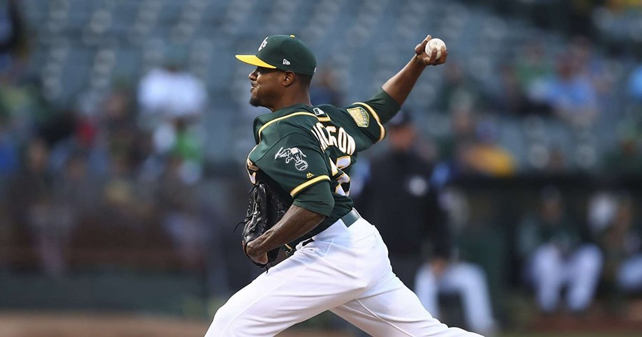 Right-hander Edwin Jackson combines with four relievers on five-hitter