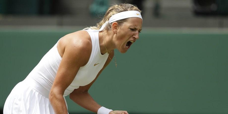 Former world number one Victoria Azarenka outlasts Kateryna Bondarenko