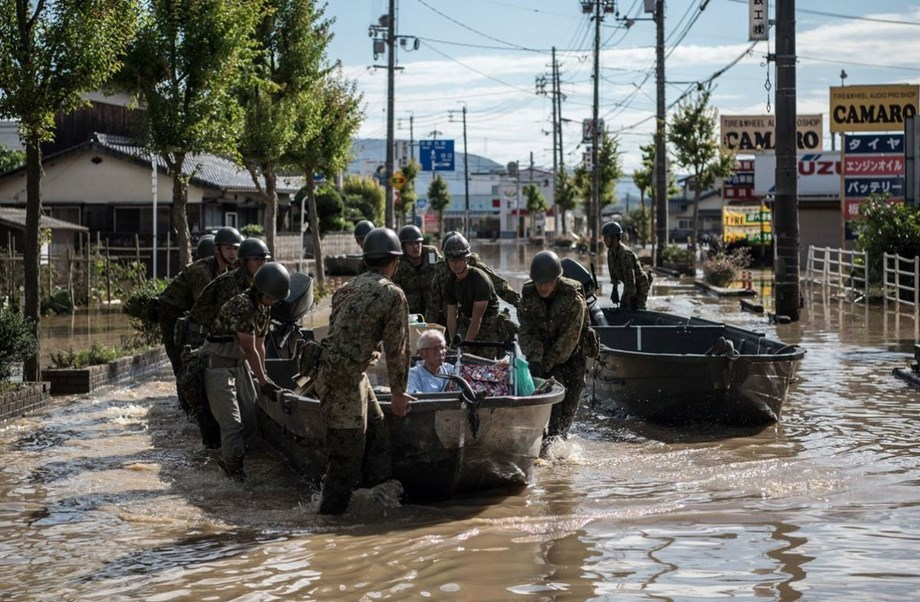 More than 300 died in July from weather-related disasters in Japan