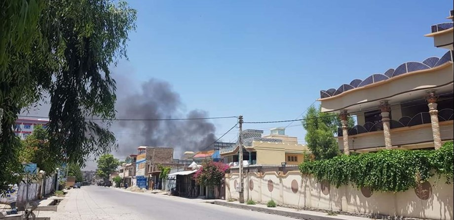 At least two explosions heard in Afghanistan's eastern city of Jalalabad