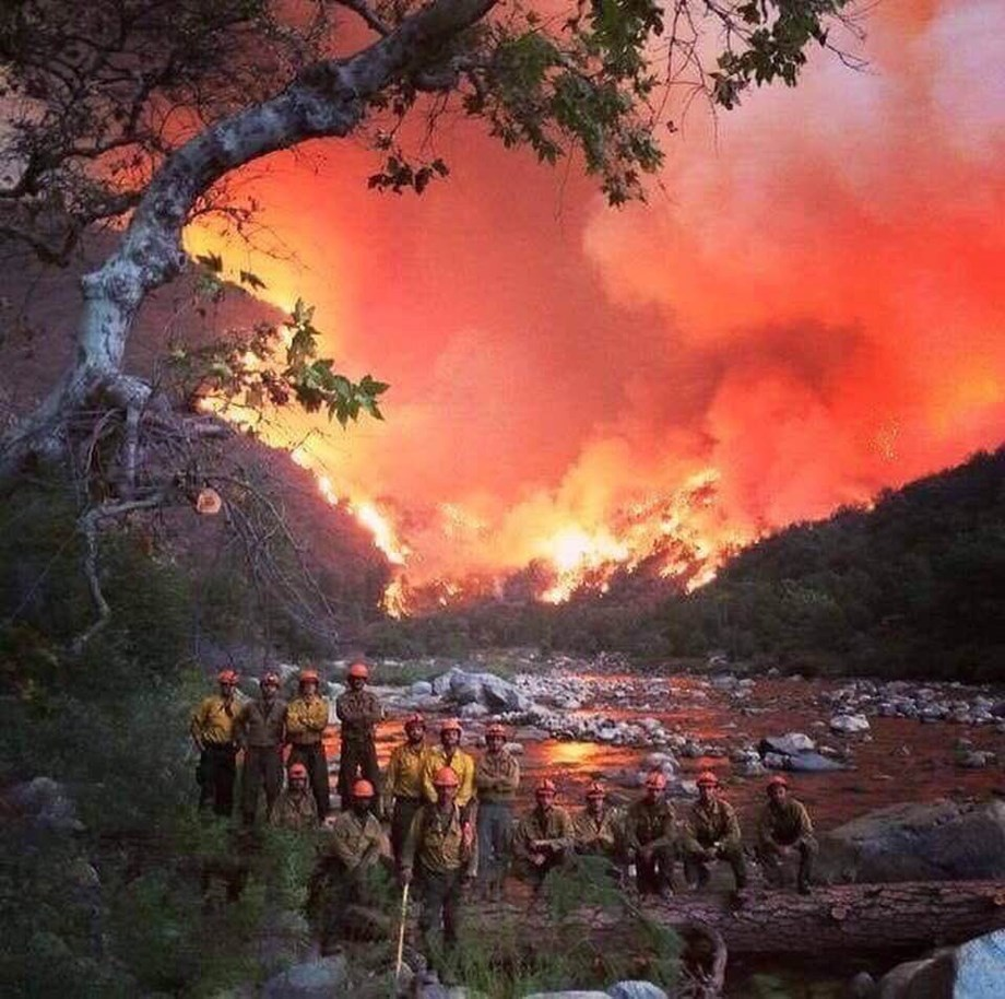 36,000 firefighters struggling against one of most destructive wildfires in California