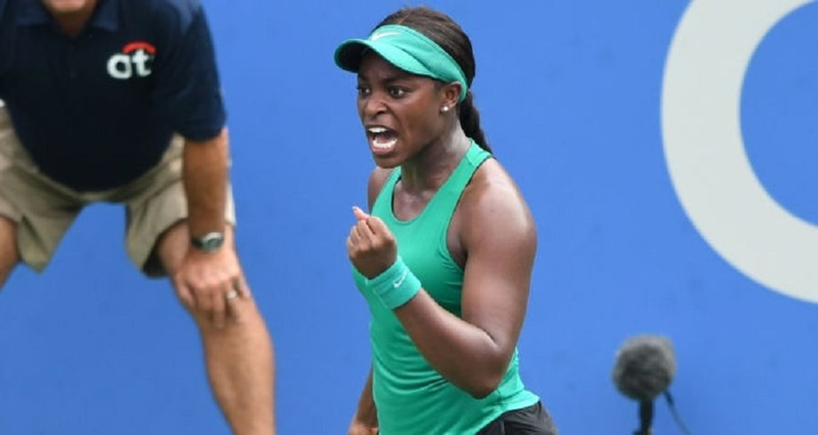 Sloane Stephens begins US Open title defence by beating Sands in Citi Open