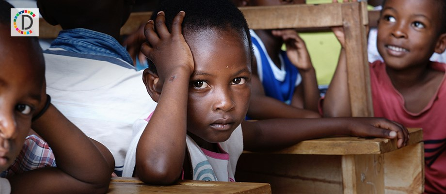 African children forced to work as labor to pay for education