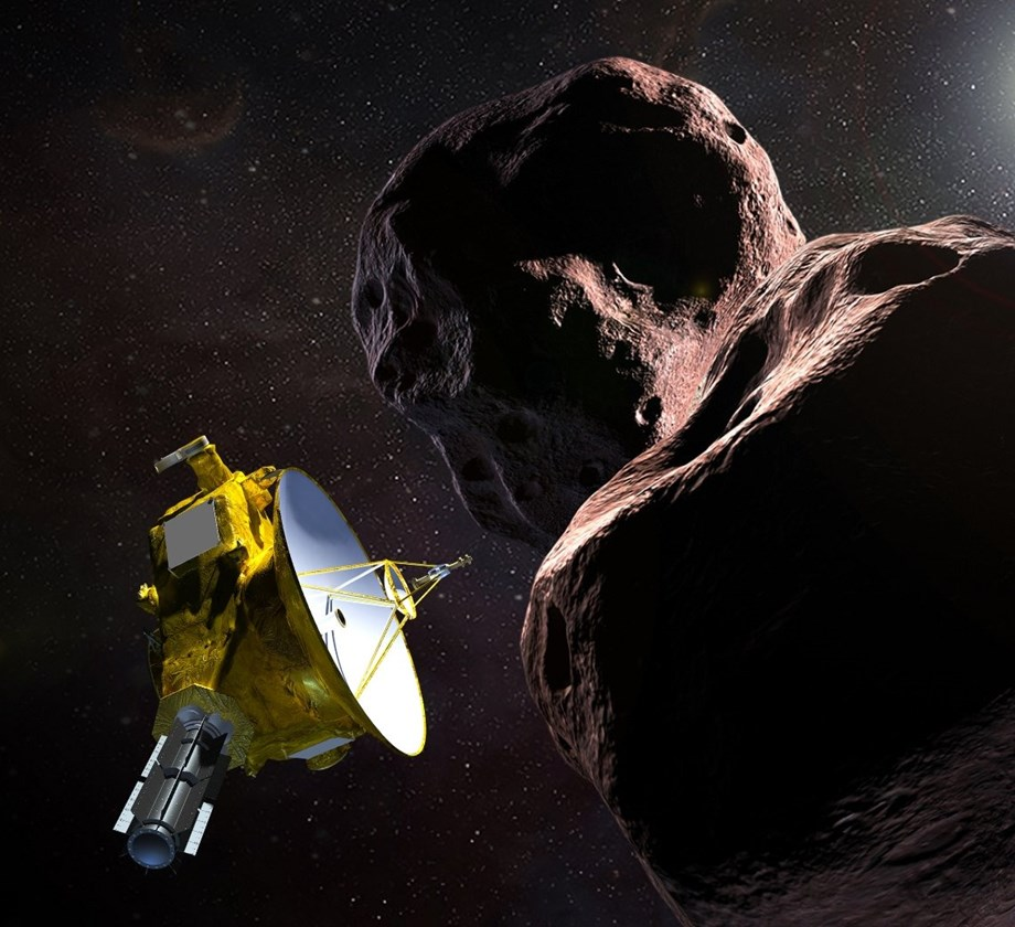 NASA's New Horizons spacecraft finds no evidence of atmosphere on Ultima Thule