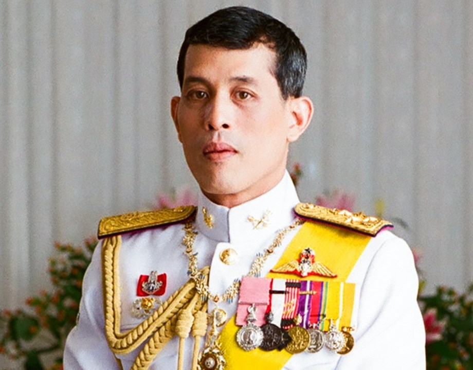 Thai king in white robes began purification rituals for official coronation