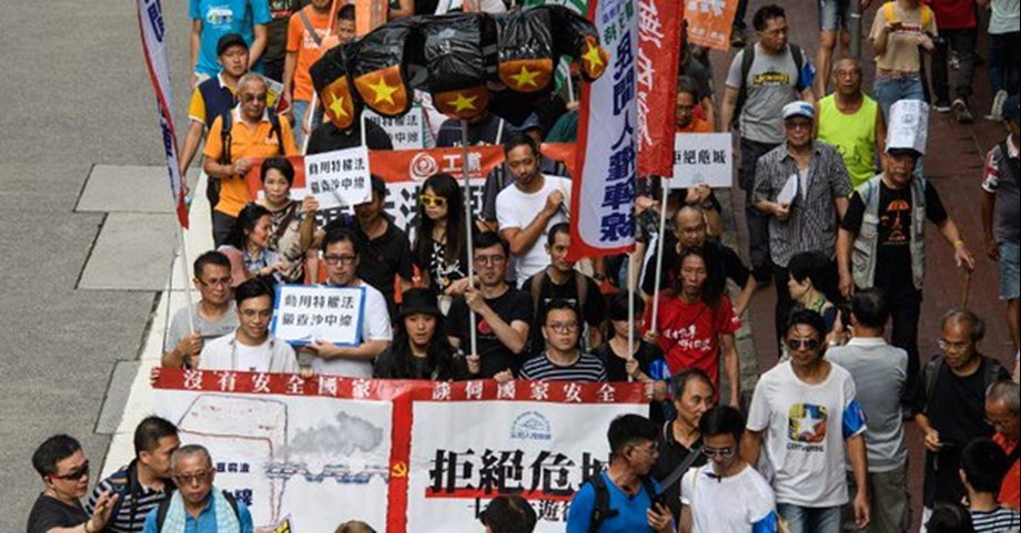 Cancellation of literary events in Hong Kong creating concern over its freedom