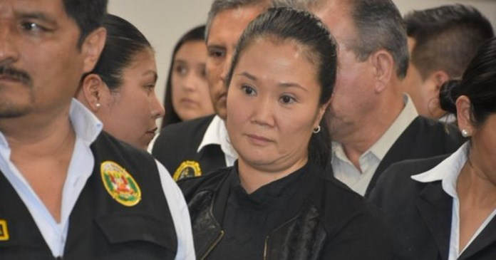 Peru's opposition leader Keiko Fujimori arrested on graft charges