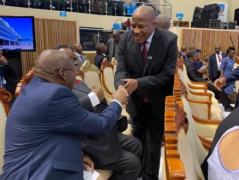 Jackson Mthembu represents SA at Presidential inauguration in Botswana
