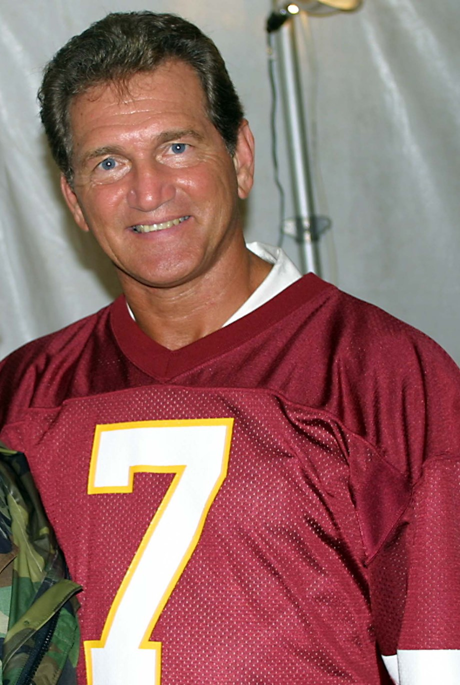 9e1bb985a Redskins  Haskins gets blessings from Theismann to wear jersey No. 7 ...