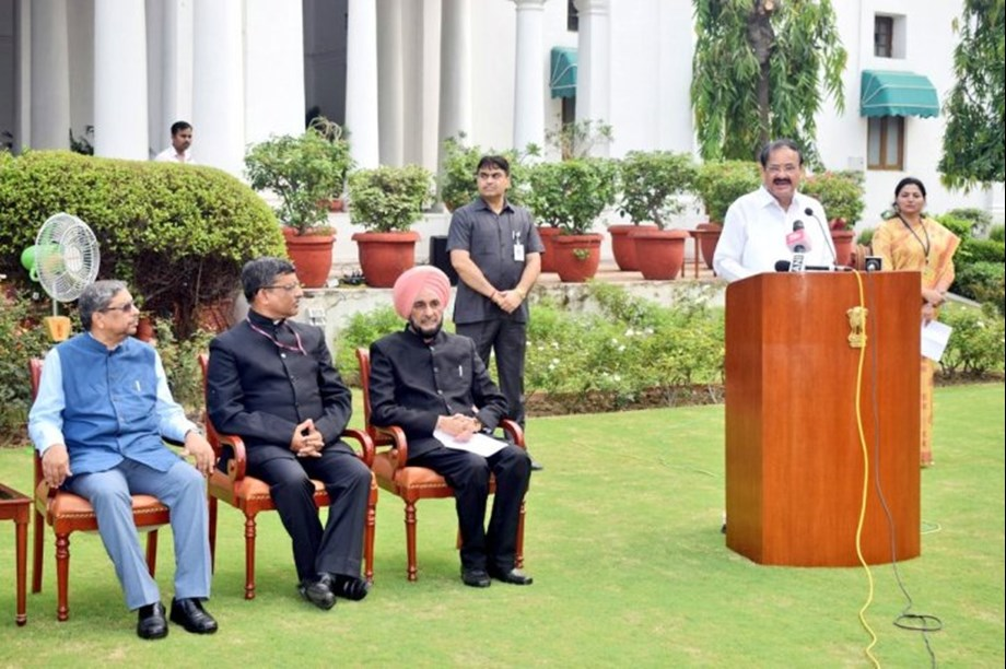 VP Naidu stresses need to encourage people on forest conservation