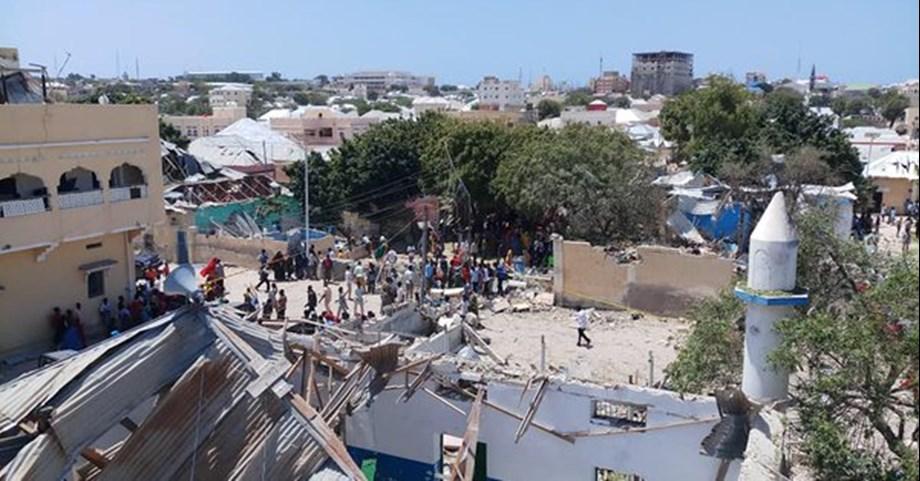 Over 30 militants killed Somalia's Qoryoley town
