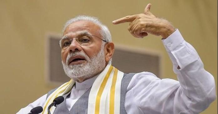 Modi sets tone for 2019 polls, attacks Mahagathbandhan