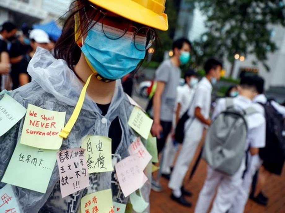 Hong Kong students plan second day of pro-democracy rallies
