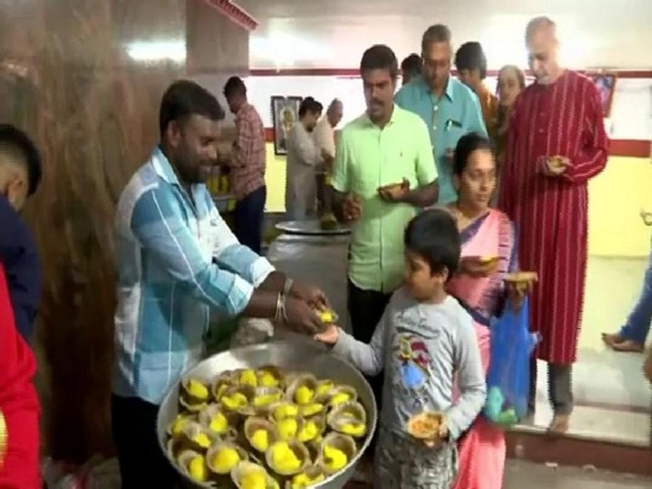 Ganesh Chaturthi: Devotees offer prayers at Dodda temple in Bengaluru
