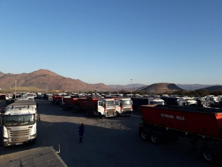 Ministers condemn violence and burning of trucks in logistics sector