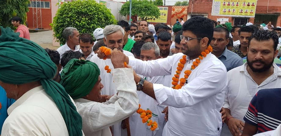 INLD expels Dushyant Chautala from party primary membership