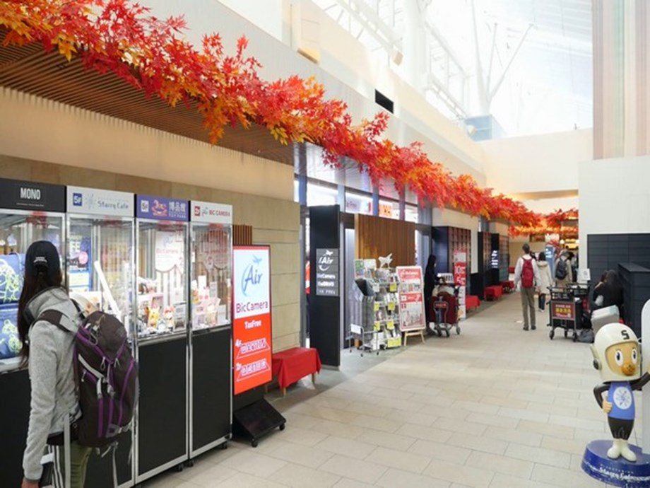 BIC Camera stores at Haneda airport and other prime locations attracts visitors