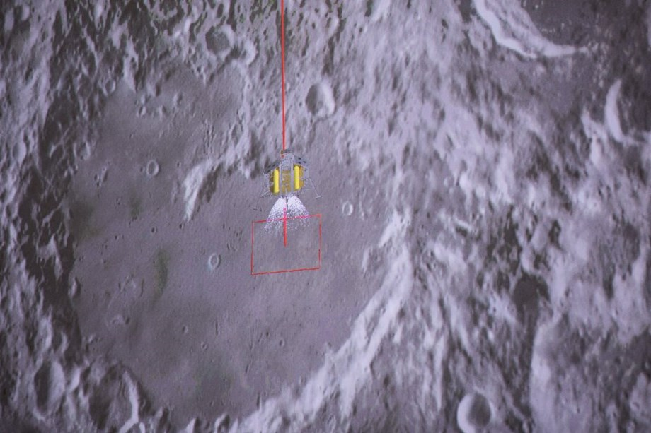 China's Chang'e lunar rover historic touchdown at moon's unexplored side
