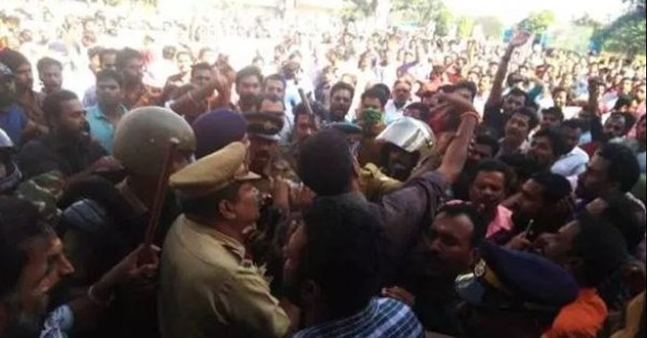 Third woman breaches ban at south Indian temple amid protests