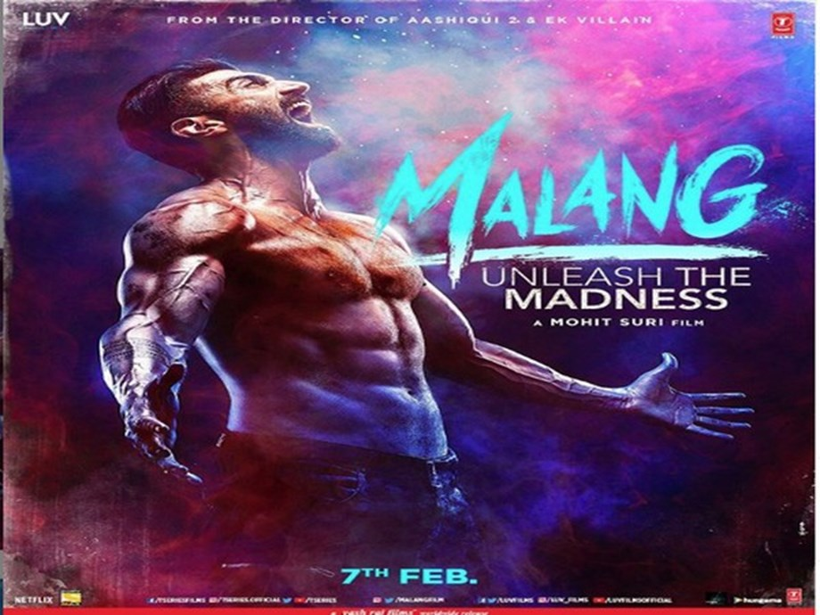 Aditya Roy Kapoor Flaunts Chiselled Body On First Malang Poster Entertainment