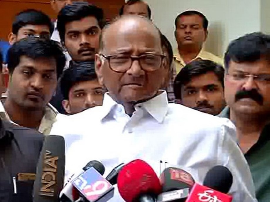 NCP chief Sharad Pawar slams PM Modi for talking about his family