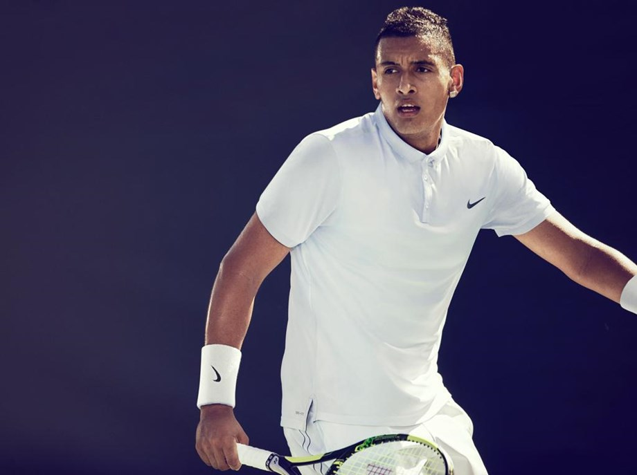 Tennis-Kyrgios goes quietly into the New York night