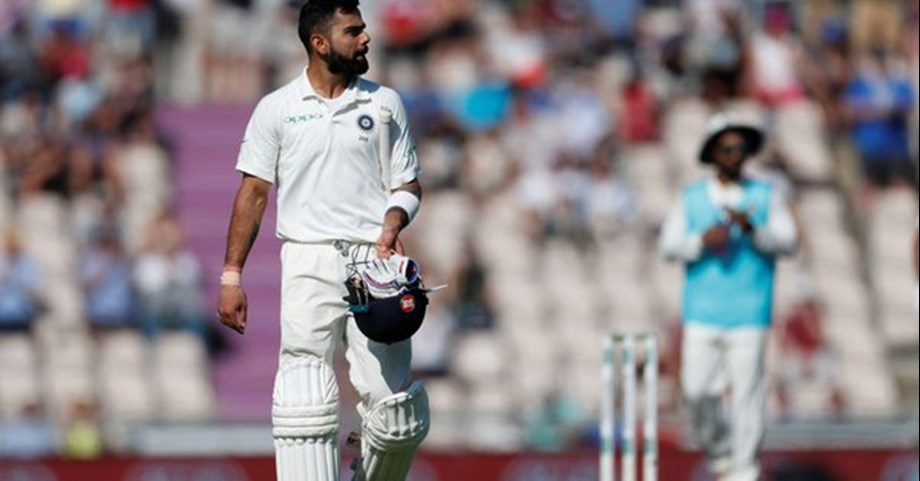 Kohli booed by section of Adelaide crowd