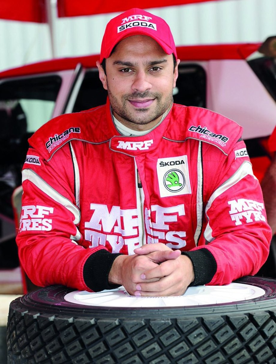 Gaurav Gill lead on Day 1 of India Rally