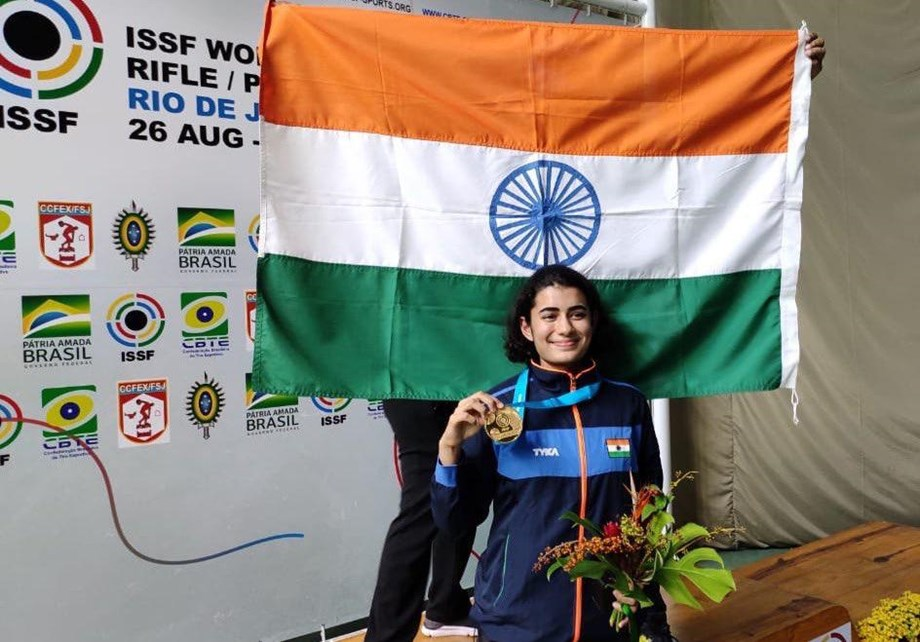 Another day, another gold, Yashaswini Singh Deswal books Olympic quota in shooting