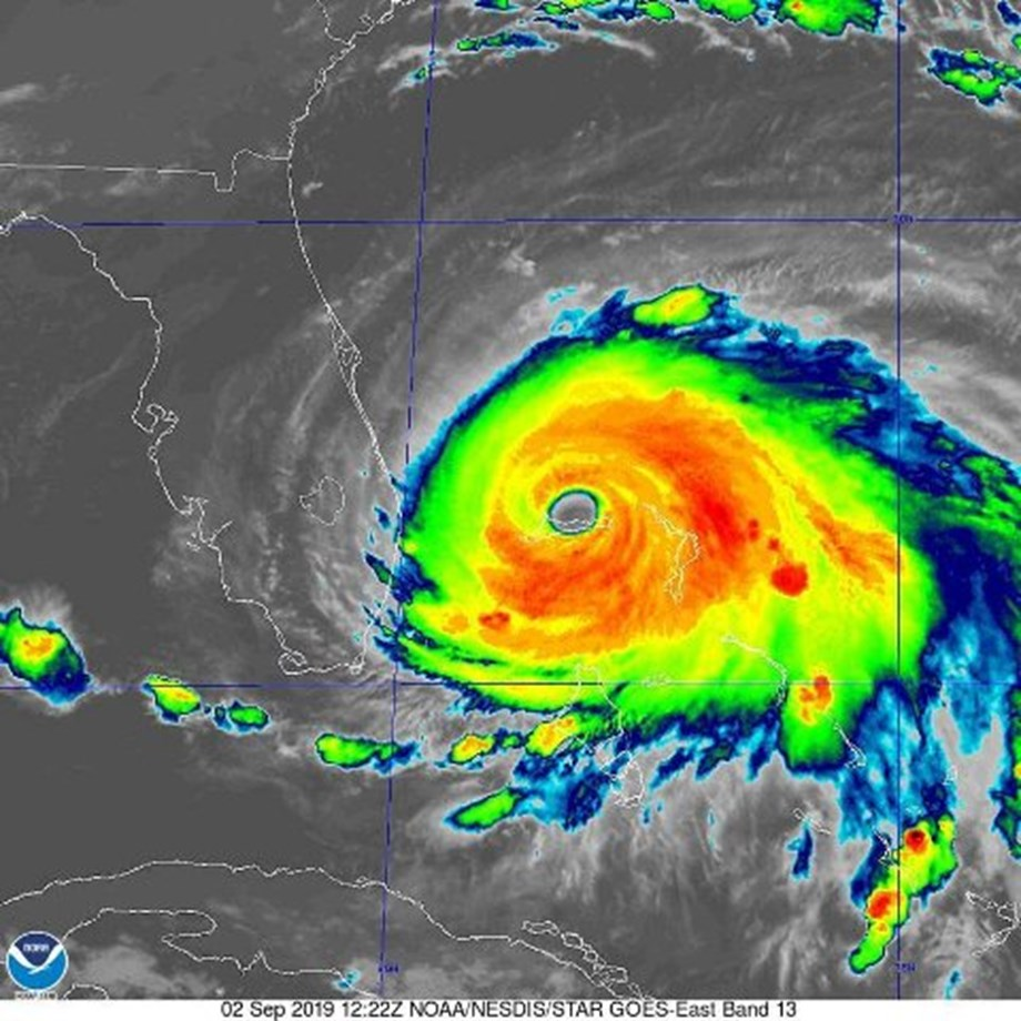 CORRECTED-UPDATE 8-After inflicting 'extreme damage' on Bahamas, Hurricana Dorian closes in on Florida
