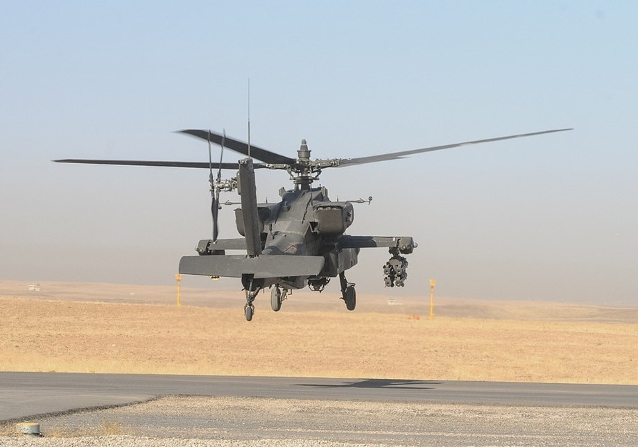 HIGHLIGHTS-Pathankot: Indian Air Force inducted eight US-made Apache AH-64E attack helicopters