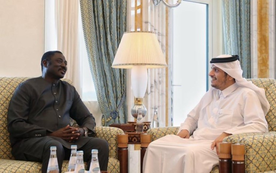 Foreign Ministers of Qatar and Gambia review bilateral cooperation relations