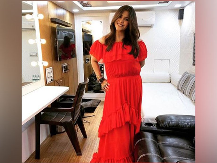 Ekta Kapoor attends Busan International Film Festival